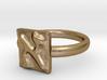 01 Alef Ring 3d printed