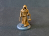 Cleric 3d printed The Cleric miniature with some tiles added to the base and a simple basecoat