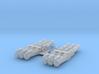 "1/350 WW2 RN 21"" Triple Torpedo Mounts (2) 3d printed 1/350 WW2 RN 21"" Triple Torpedo Mounts (2)"