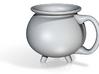 Cauldron Mug Small (Customizable!!) 3d printed