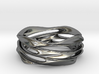 Whirlwind Ring 3d printed