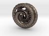 Nautilus pocket sculpture 3d printed