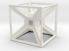 Tesseract Desk Sculpture 3d printed