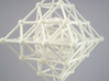 Diamond Spinning Ornament Mini 3d printed Printed in WSF