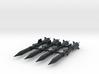 'Anti-Vajra' Missile x4 - BANDAI 3d printed