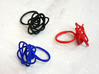 Sprouted Spiral Ring (Size 9) 3d printed Sprouted Spiral Rings