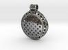 Round Hollow Bead Pendant 3d printed