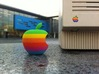 Retro Apple Logo in 3D 3d printed