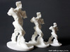 Spiral Expansion of Muscles in Movement - 7.5 cm 3d printed 6 inch, 4.5 inch and 3 inch prints