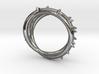 Rose Thorn Ring - Sz.8 3d printed