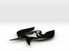 Blade Wings Pendant 3d printed