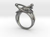 Protons, Neutrons, Electrons Ring 3d printed