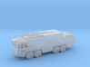 1/144 Scale Fuan Airfield Fire Truck 3d printed