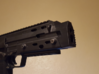 "MP7  ""Warthog"" frontend 3d printed early prototype"