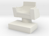 Captain's Chair, 28mm Scale 3d printed