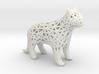 Lattice Cat Piece 3d printed Snow White