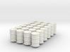 Power Grid Oil Barrels - Set of 24 3d printed