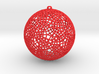 christmas wire ball 3d printed