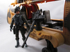 Action figure compatible 1/18 Scale 50 Cal machine 3d printed upgrade your 1/18 vehicles with this modular 50 caliber machine gun. Some retooling and assembly is required for installation.