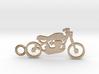 Moto keychain 3d printed