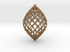 0581 Polar Zonohedron V&E [12] #002 3d printed