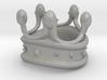 King Rook Ring 3d printed