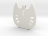 Sailor Kitty Pendant 3d printed
