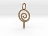 Lollipop Keychain 3d printed