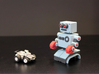 Billy Bob the home made remote control robot 3d printed disassemble