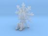 Tiny Snowflake Sprite 3d printed