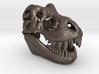 T-Rex Skull 40mm Pendant - Keychain 3d printed