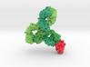 Monoclonal IgG4 Antibody bound to PD-1 5dk3 5ggr 3d printed
