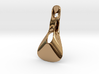 Triple Cube Brass 022 3d printed