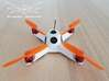 Canopy (1mm) for Fusion Micro FPV Frame 3d printed Canopy (1mm) for Fusion Micro FPV Frame - CANOPY ONLY