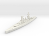 Conte di Cavour battleship 1/1800 3d printed