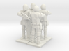 4 Peacekeepers (The Hunger Games Trilogy), 1/64 3d printed