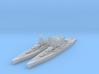 Littorio class battleship 3d printed