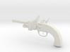 "Flintlock Pistol 4.5"" 3d printed"