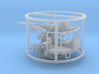 1/87 40mm Bofors Twin Mount USN WWII ships 3d printed