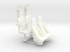 YT1300 5 FOOTER COCKPIT SEATS PLASTIC 3d printed