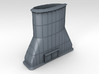 1/96 WW2 Leander Class Cruiser Funnel 3d printed 3d render showing product detail