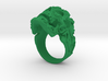 Filigree Skull Ring 3d printed vampire filigree skull ring