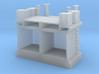 Hoogespoorbrug - Landhoofd en pijler 3d printed rendered image