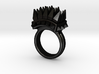 Ferocious Spiked Band (Size 6) 3d printed