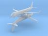 1/700 Embraer 195 w/Gear x2 (FUD) 3d printed