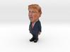 Tiny  Trump Statue 3d printed