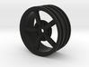 Mach 5 2.2 Wheel with 12mm hex +3mm offset 3d printed