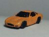 1/160 Mazda RX7 FD3S X3 3d printed just example, printed with my desktop printer.