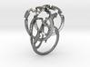 Weave Five in interlocking metal 3d printed