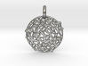 The Sun Pendant 3d printed The Sun is Silver